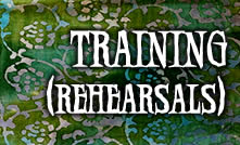 Training (lesson/rehearsal dates)